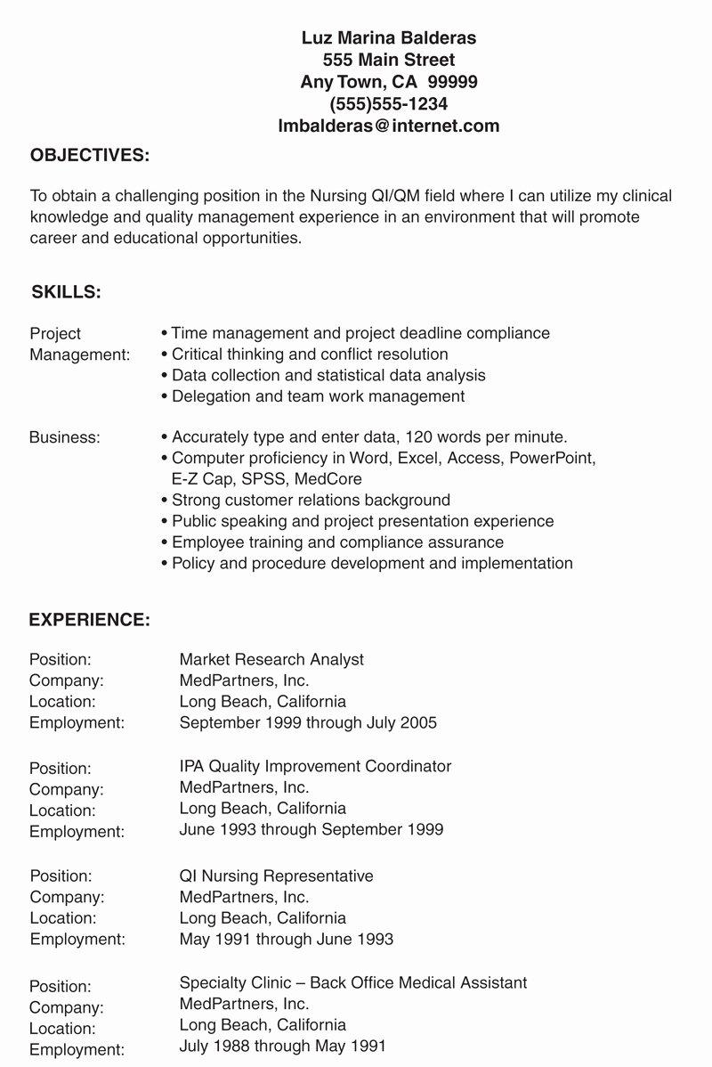 Lpn Resume Objectives