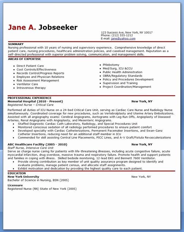 Lpn Sample Resume