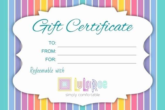 Lularoe T Certificate Template Lularoe T Certificate