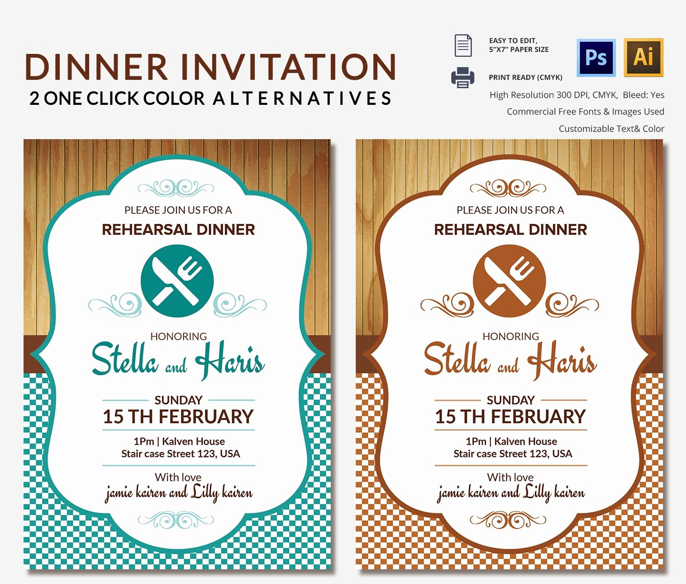 Lunch Invitation Template 25 Free Psd Pdf Documents