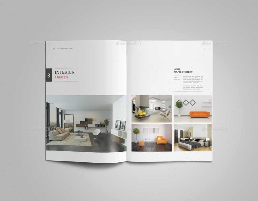 Luxury attractive Interior Design Student Portfolio Book
