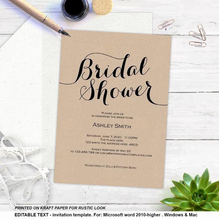 Luxury Wedding Shower Invitations Diy Ideas