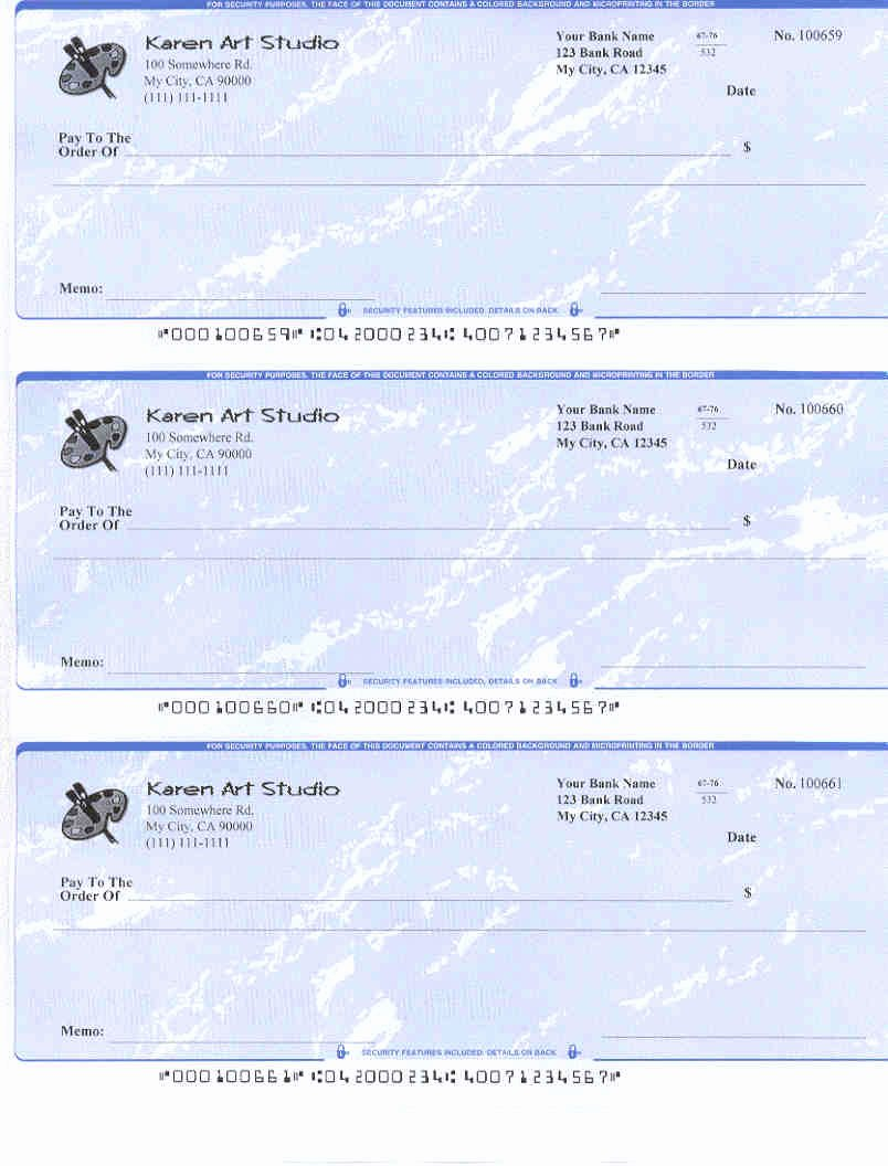 Mac & Windows Customers Print Blank Checks with Greater