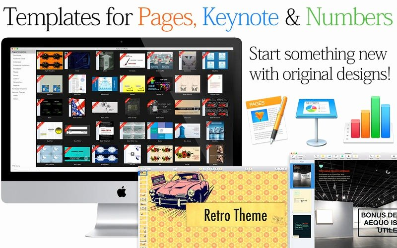 Mac Pages Templates