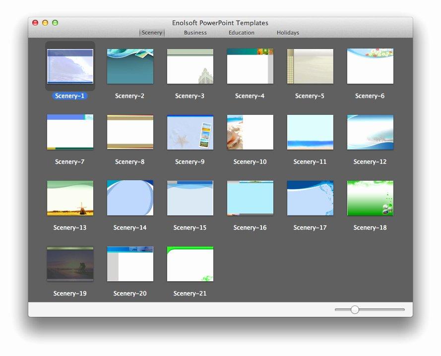 Mac Powerpoint Templates