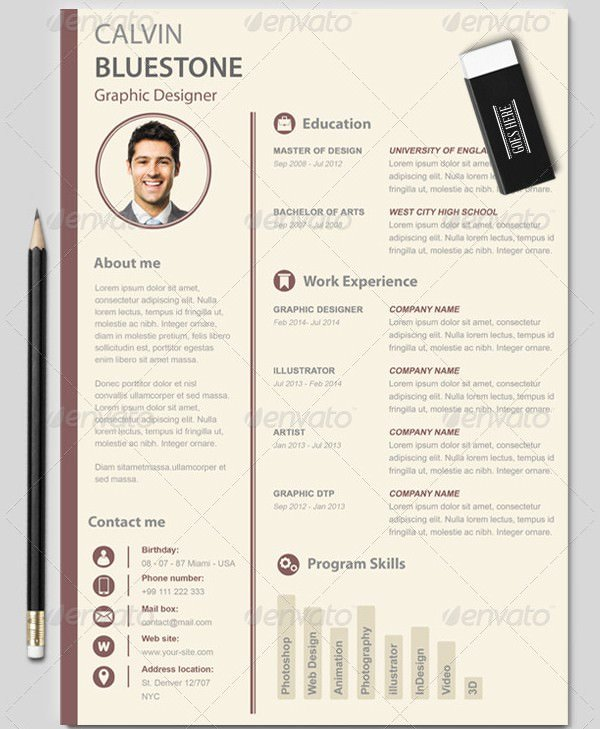 Mac Resume Template – 44 Free Samples Examples format