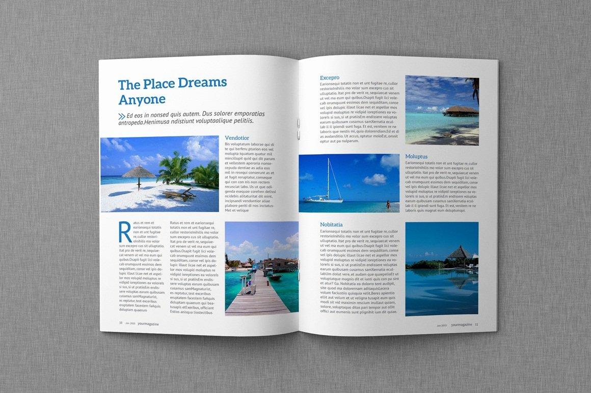 Magazine & Proposal Indesign Templates Dealjumbo