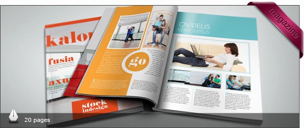 Magazine Templates for Indesign Free Templates Resume