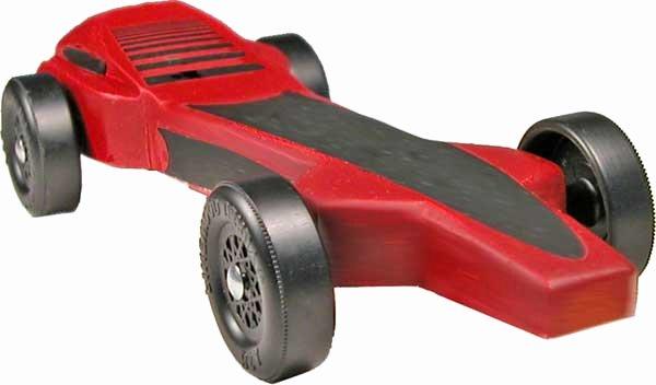 Magnum Pinewood Derby Car Design