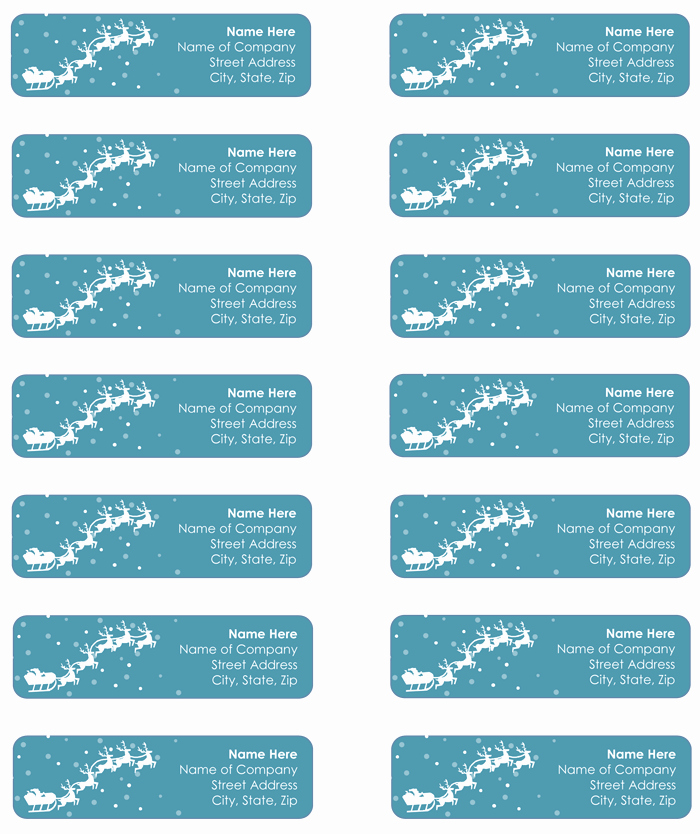 Mailing Label Templates 5 Free Designs to Create