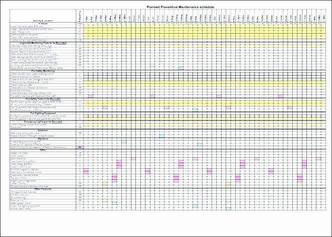 maintenance checklist template excel excel templates my home maintenance checklist hotel maintenance checklist template excel