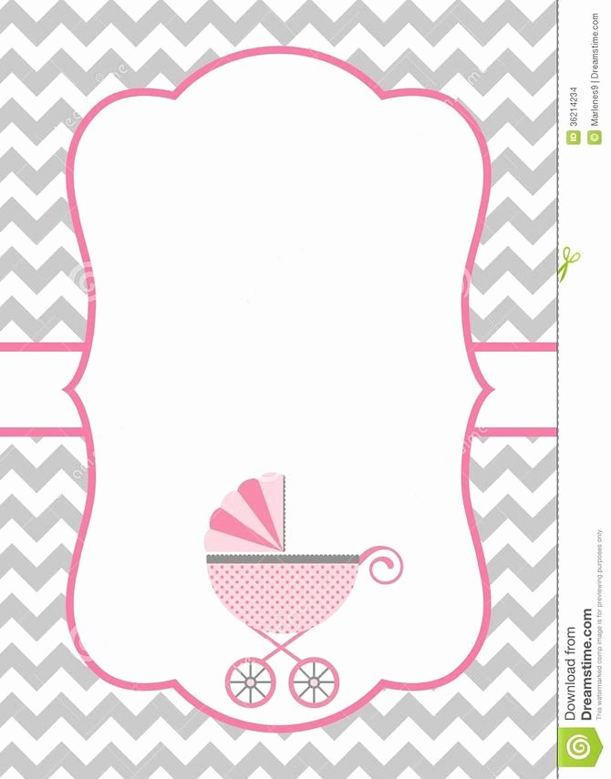 Make A Baby Shower Invitation Template Using Microsoft