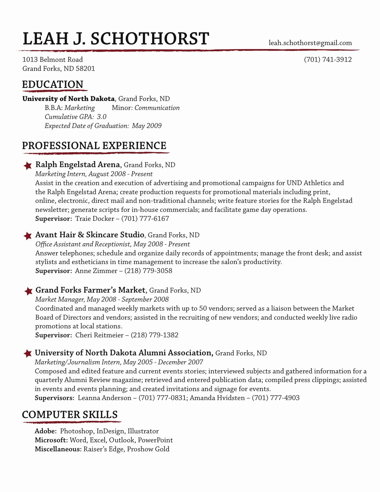Make A Resume Resume Cv Example Template