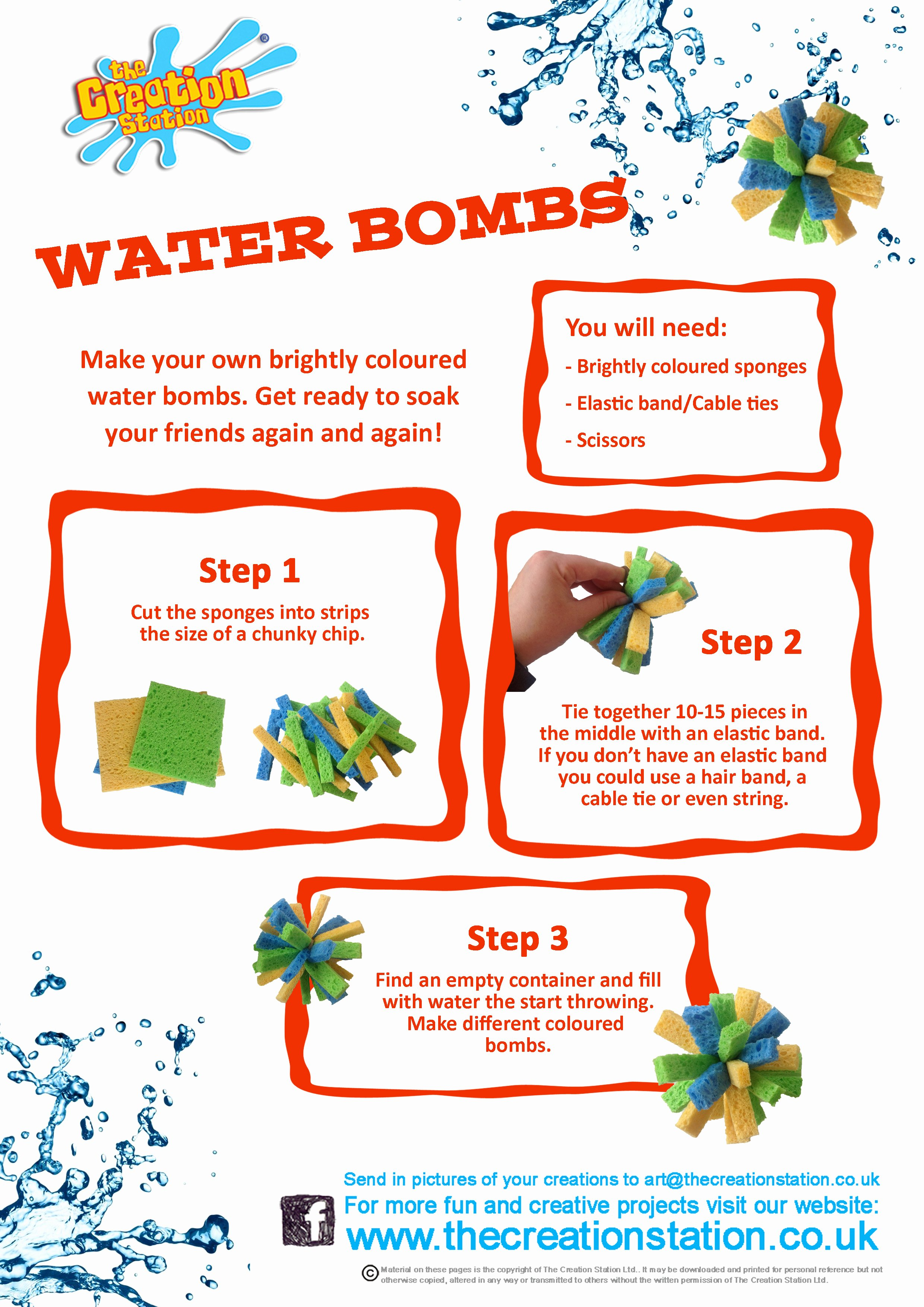 Make A Splash This Summer with Your Own Water Bombs