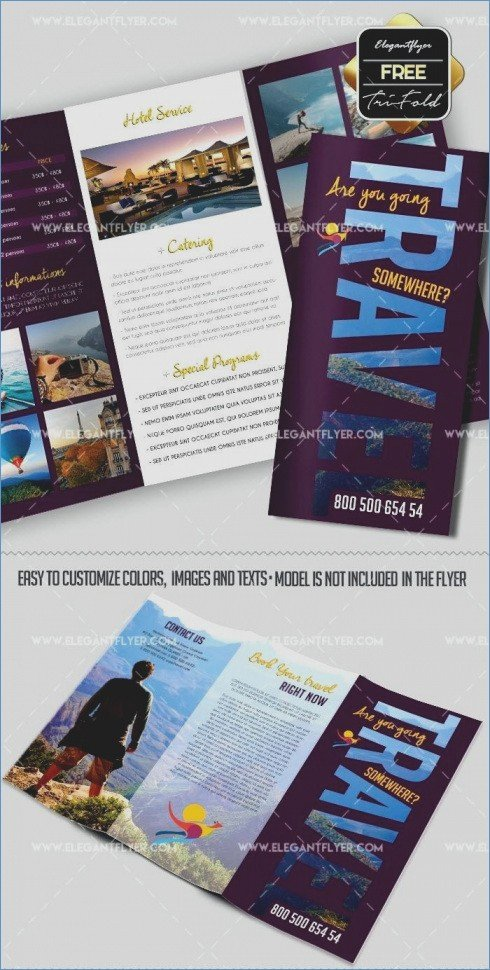 Make A Travel Brochure Template