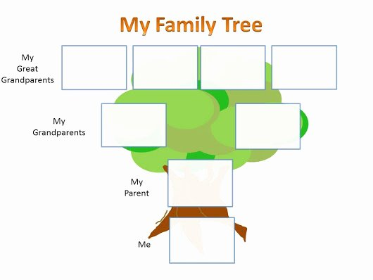 Make My Family Tree Template Google