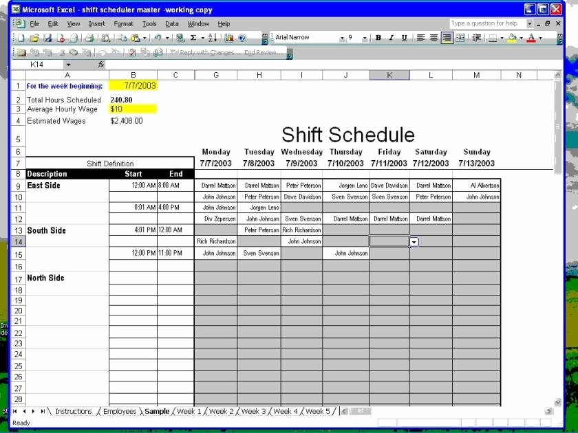 Make Schedules How to Make Employee Work Schedules In