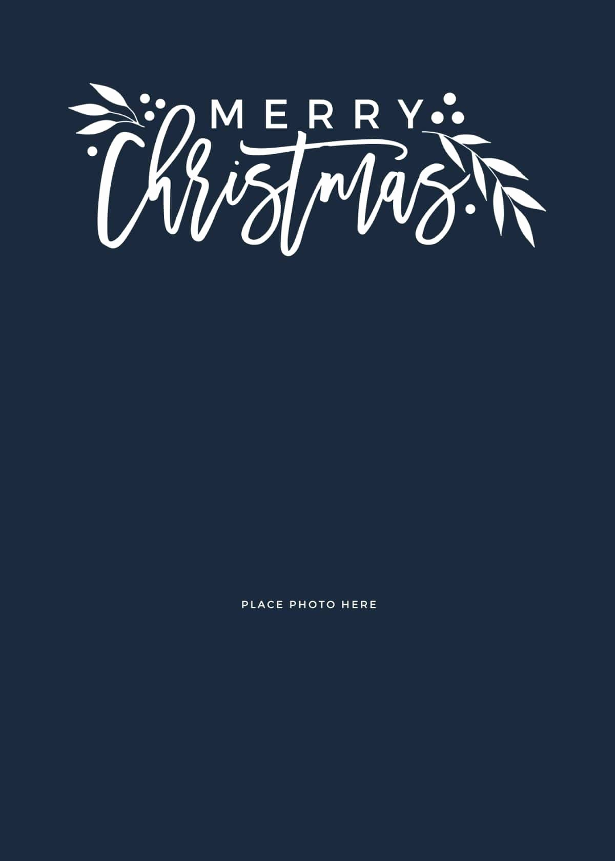 Make Your Own Christmas Cards for Free somewhat