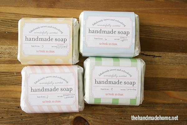 Make Your Own soap Our Fave Recipes Free Printables the Handmade Home