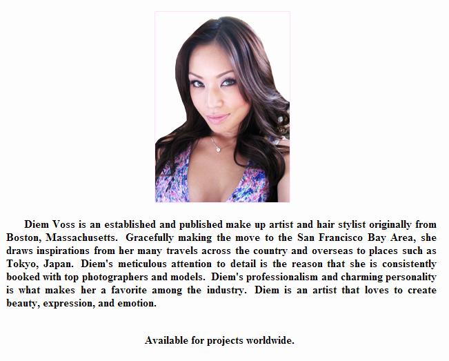 Makeup Artist Bio Templates Makeup Vidalondon
