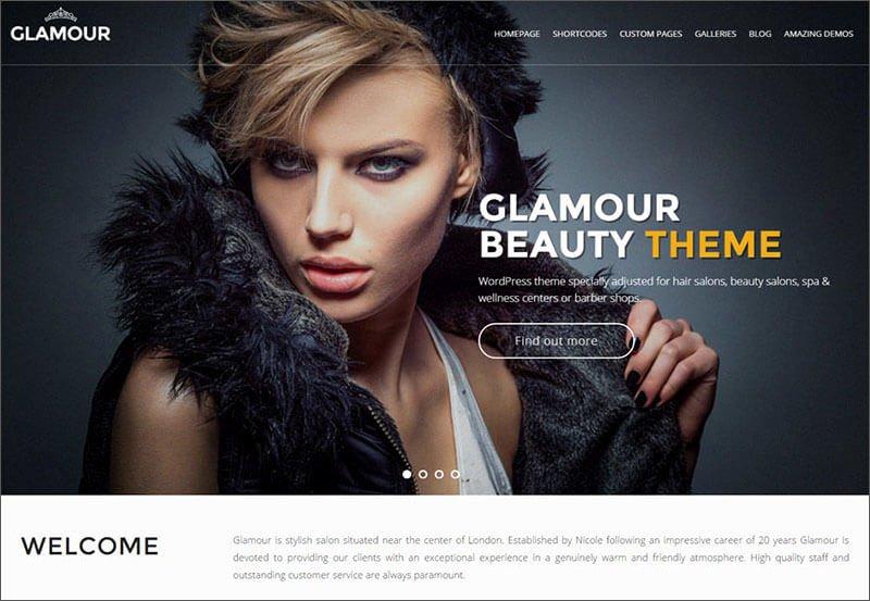 Makeup Artist Wordpress themes & Templates