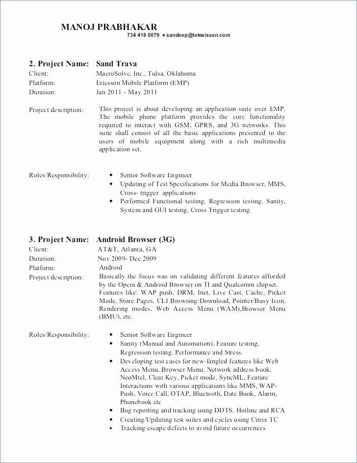 Manual Testing Resumes Sample Resume Mobile Indeed Tester