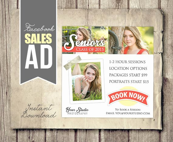 Marketing Ad Template Graphy Marketing
