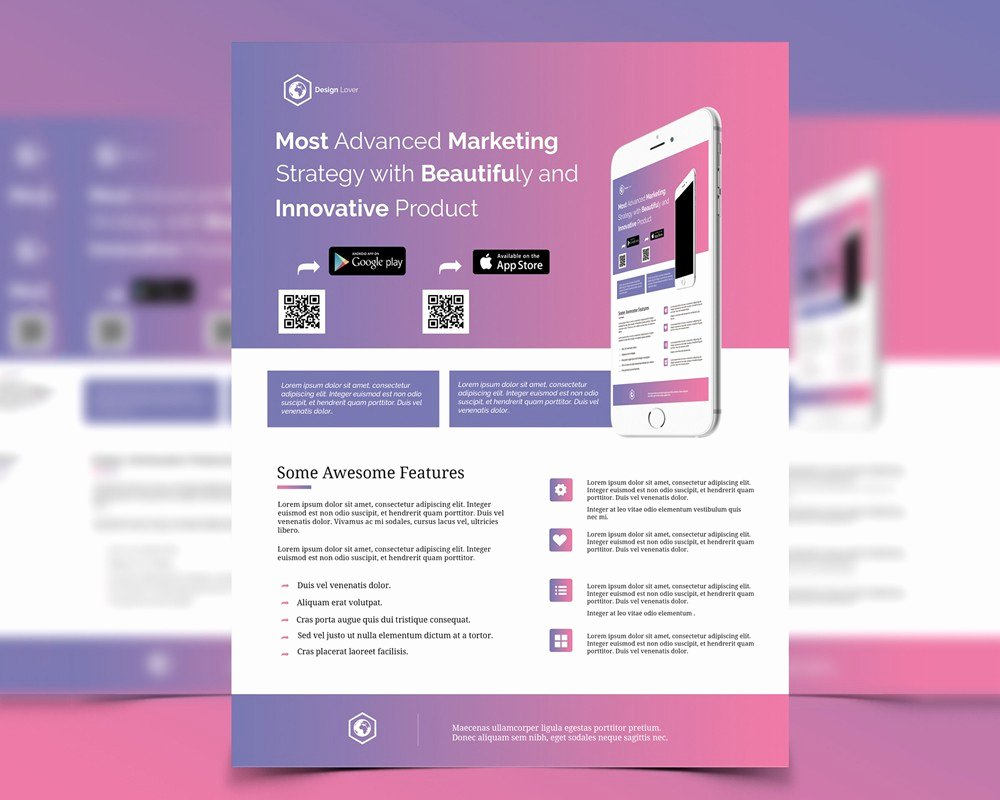 Marketing Flyer Template Free Psd Download Download Psd