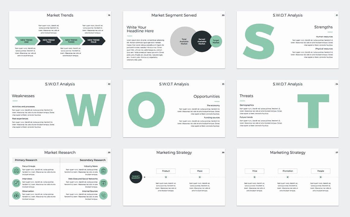 Marketing Plan Powerpoint Template Presentations