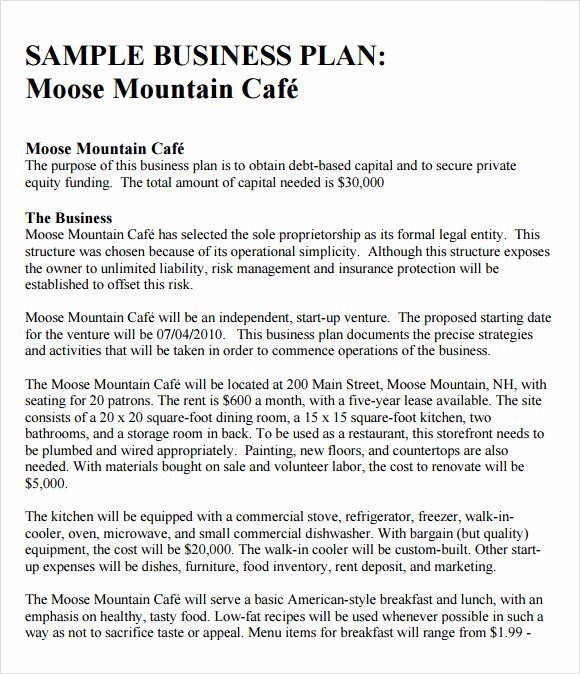 Marketing Plan Proposal Template