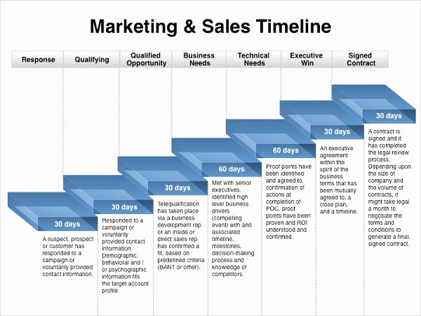 Marketing Timeline Template – 7 Free Excel Pdf Documents