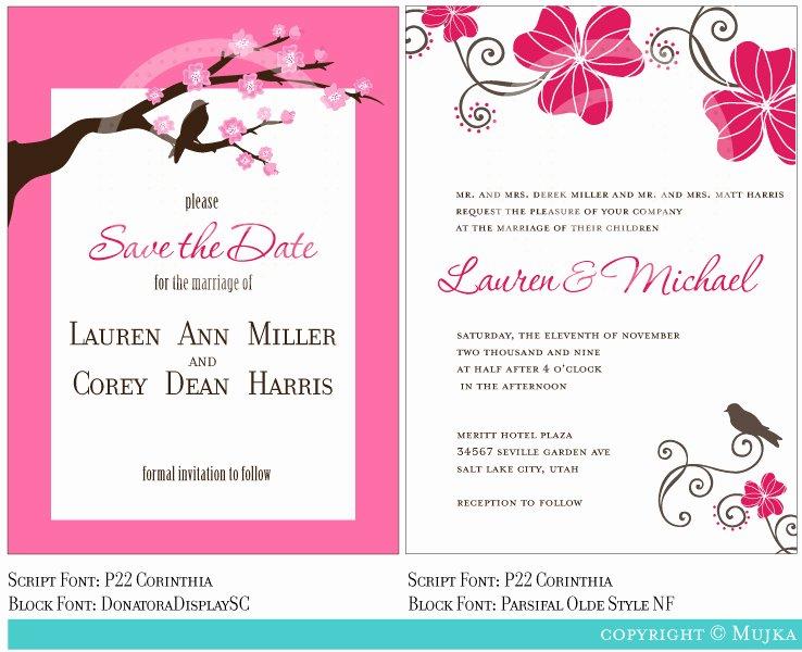 Marriage Invitation Template Invitation Template