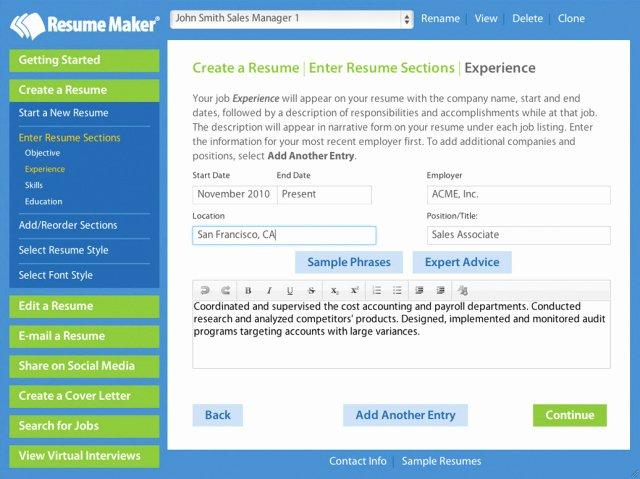 Marvelous Best Resume Builder App Samples Regarding Write