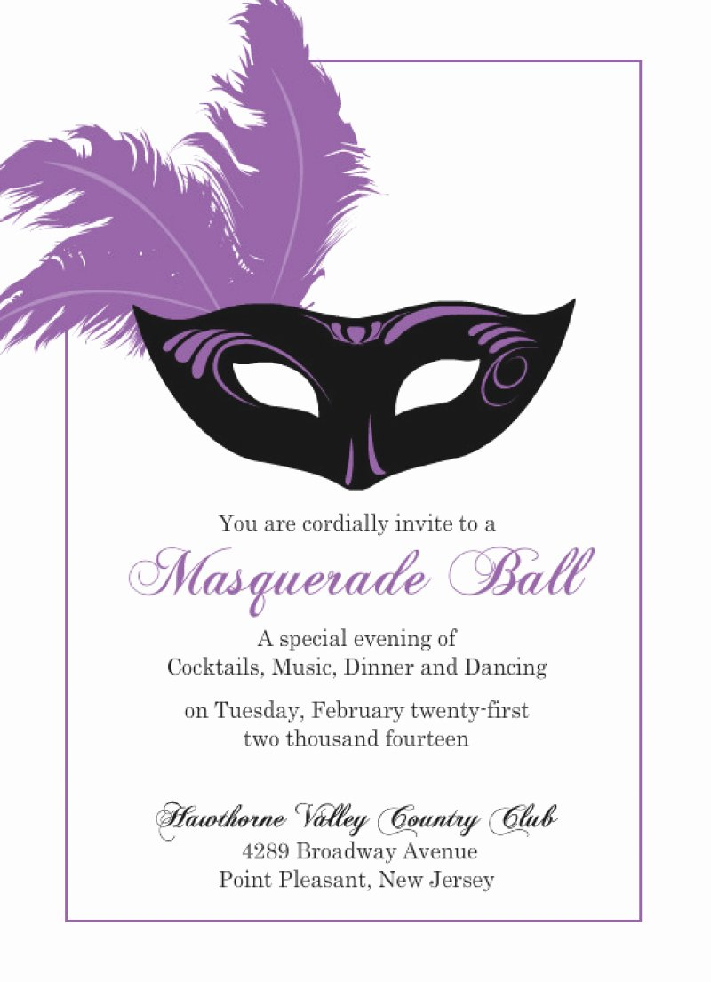 Masquerade Invitation Template Free – orderecigsjuicefo