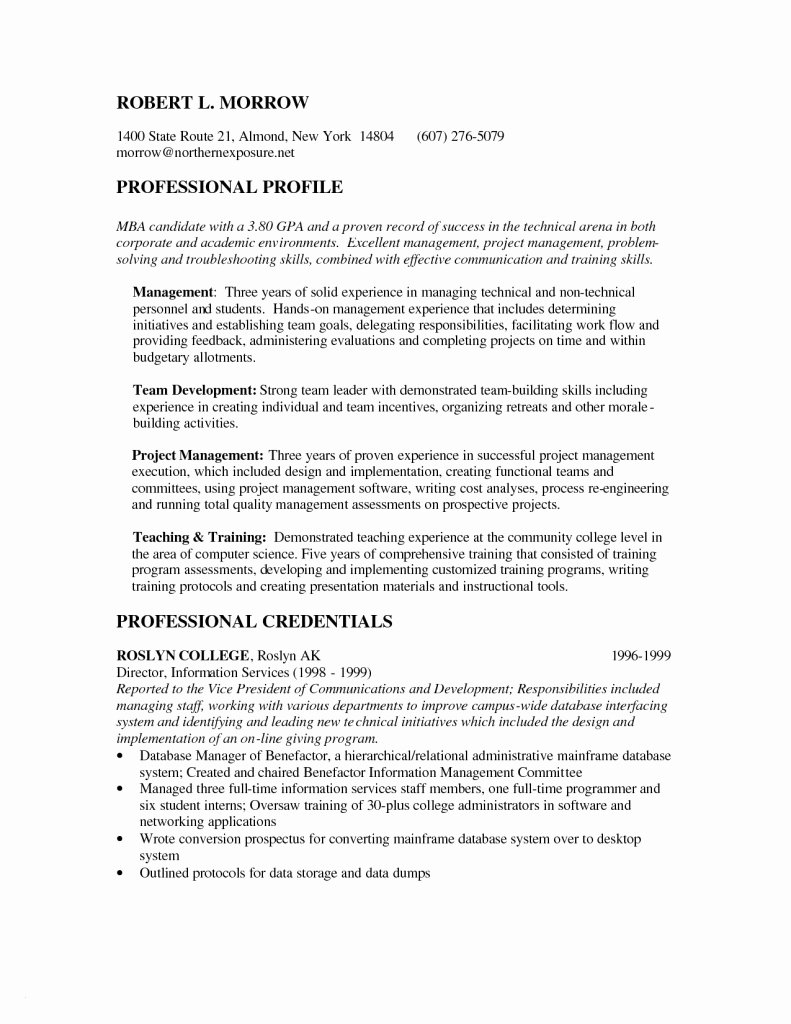 Mba Application Resume Template Best Mba Resume
