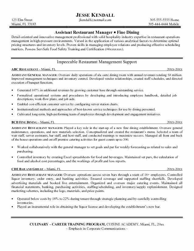 Mcdonalds Manager Resume Manager Resume Fast Food Resume