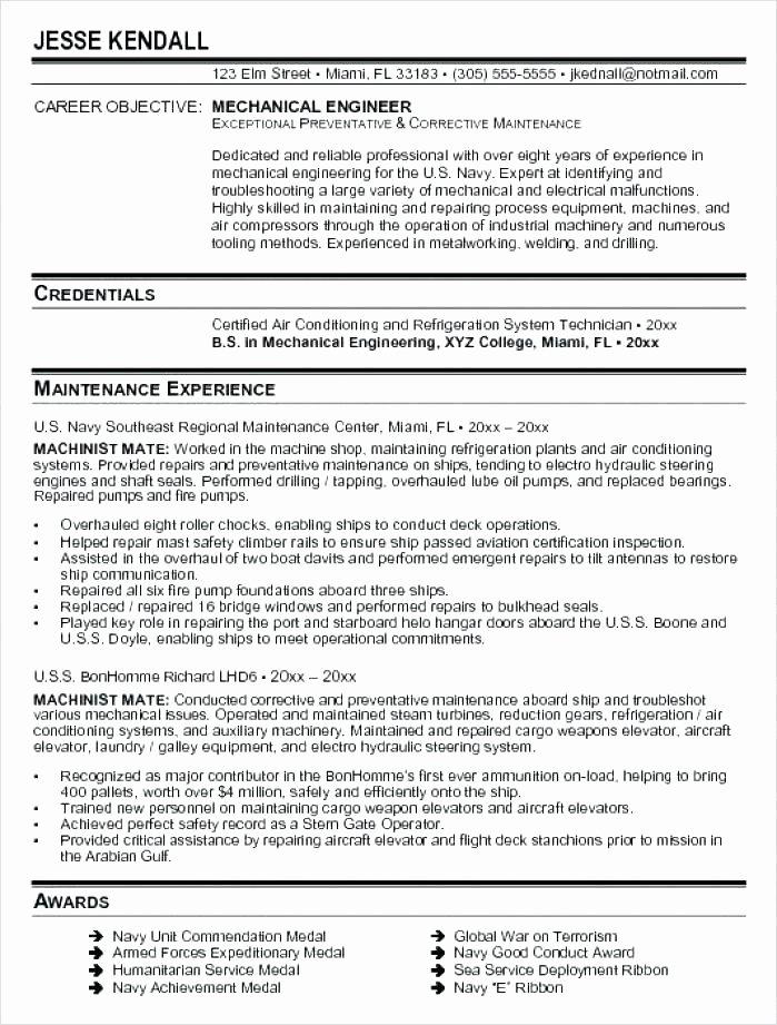 Mechanical Production Engineer Resume Resume Ideas