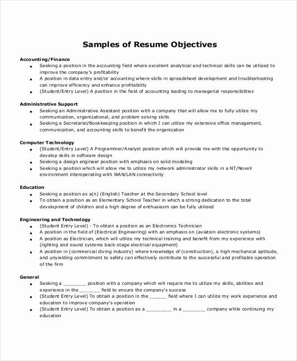 Medical Administrative assistant Resume Objective Best