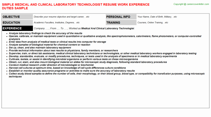 Medical and Surgical Nursing Resumes Samples