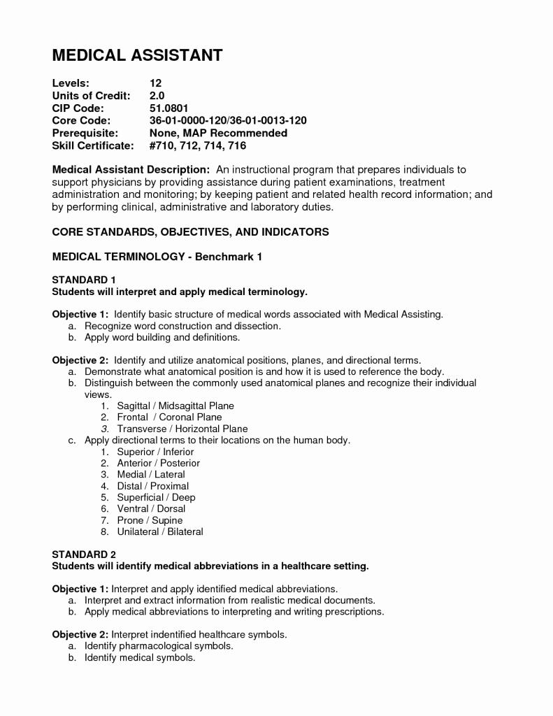 Medical assistant Externship Resume Sample – Perfect