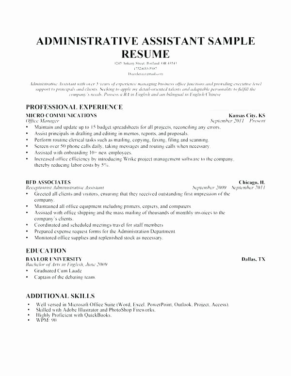 Medical assistant Resume Example Generic Sample Entry