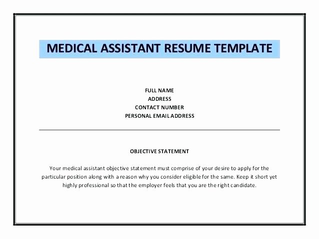 Medical assistant Resume Objectives
