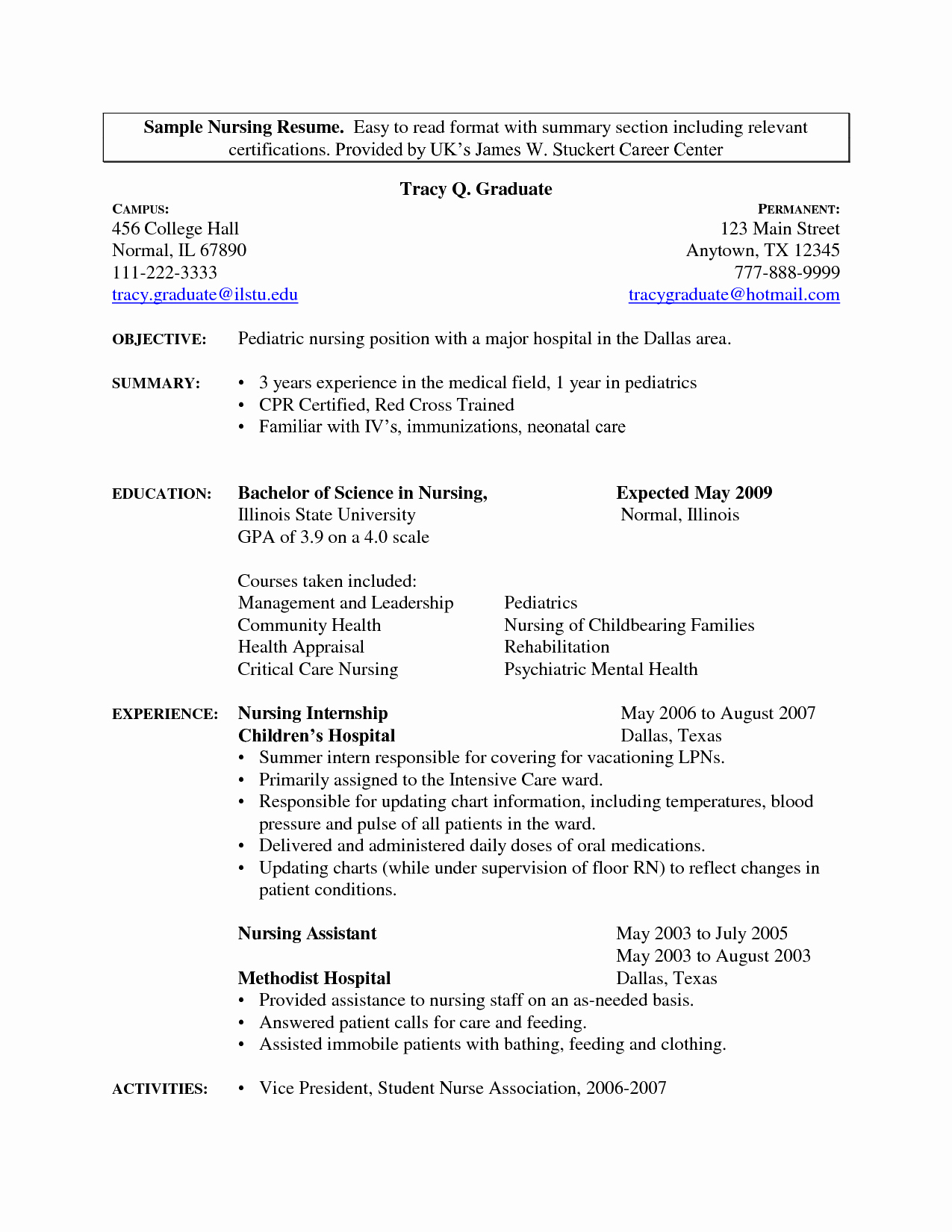 Medical assistant Student Resume Resume Ideas