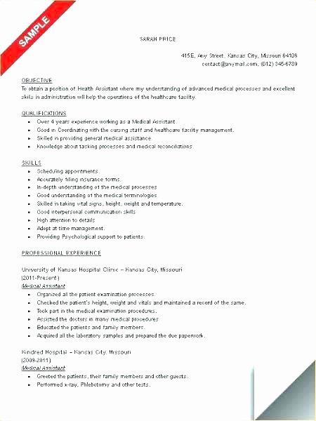 Medical assitant Resume Medical assistant Resume Skills