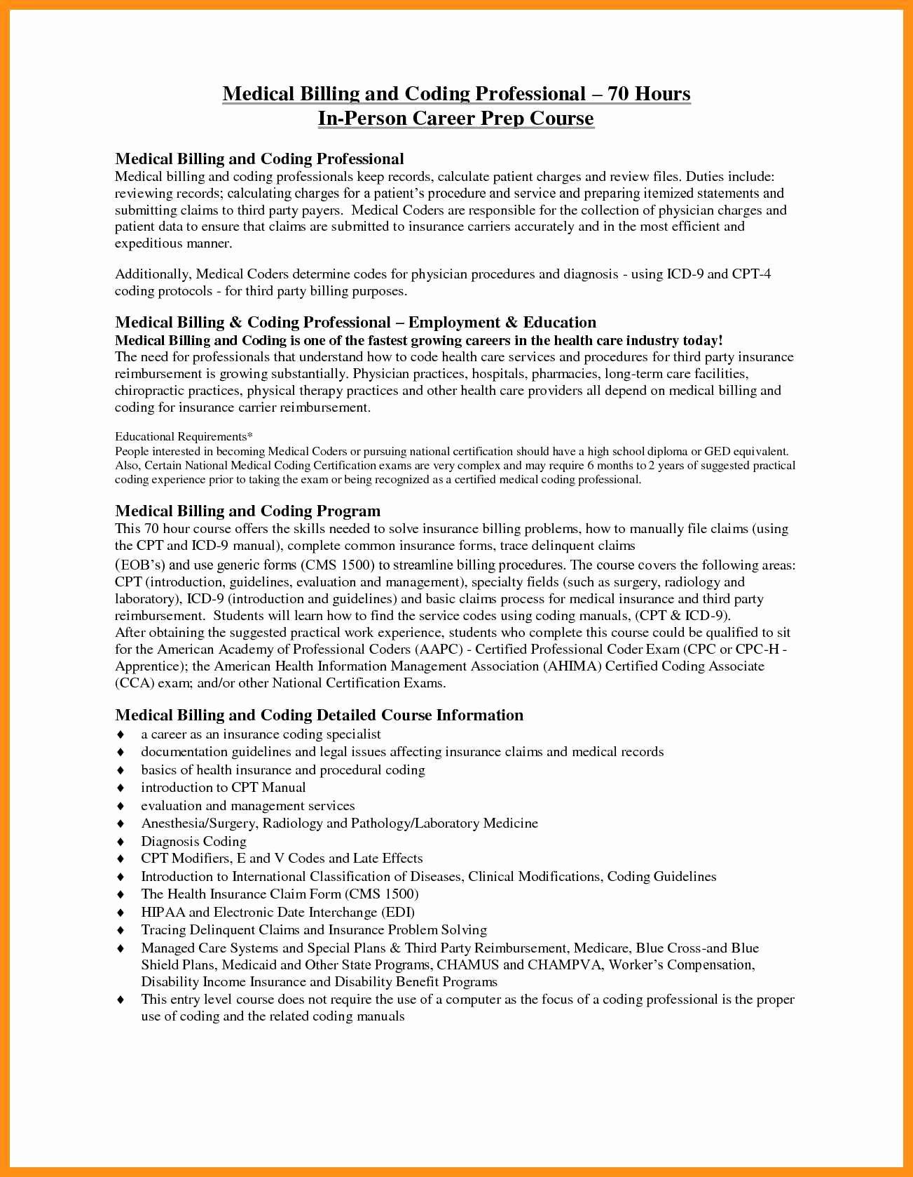 Medical Coder Resume Objective
