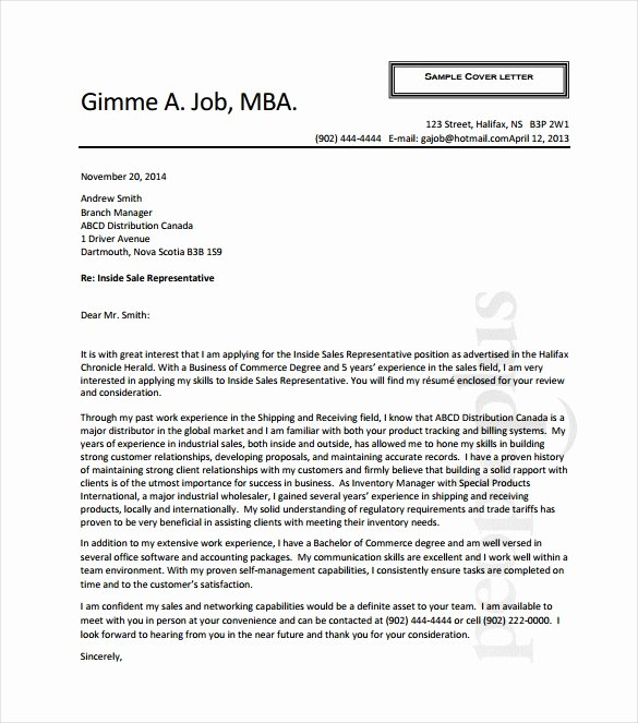 Medical Device Sales Cover Letter Examples Letter Template