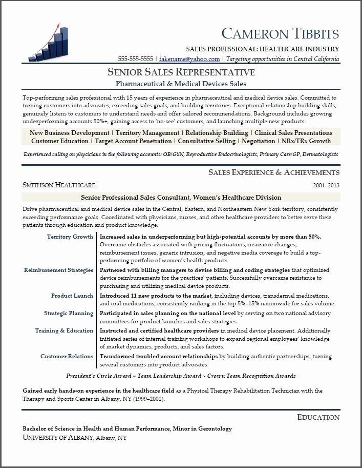Medical Device Sales Resume Best Resume Gallery