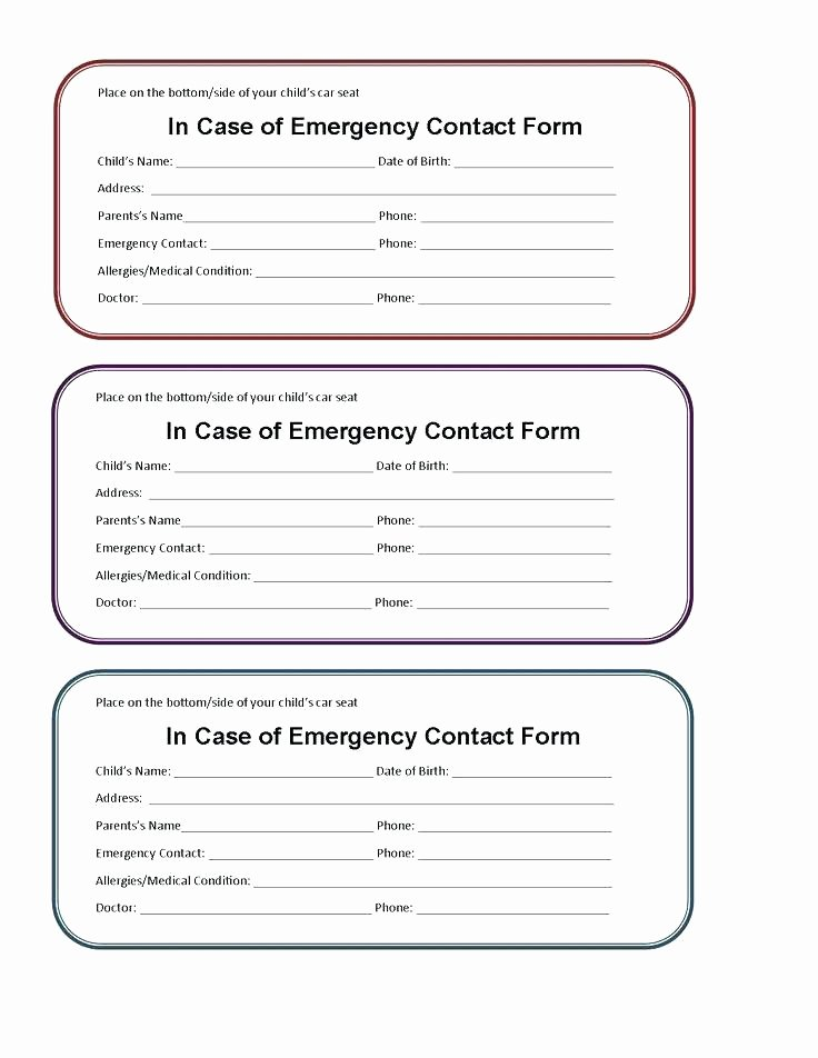 picture about Printable Medical Id Card named Printable Crisis Get hold of Card Cost-free Printable Health care Identification