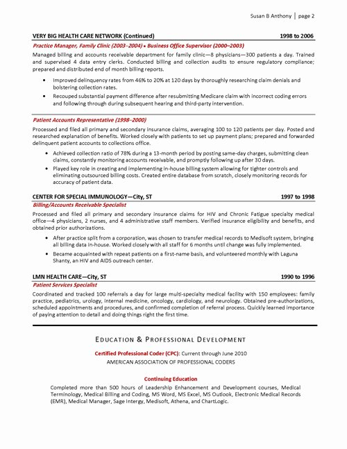 Medical Fice Administrator Resume