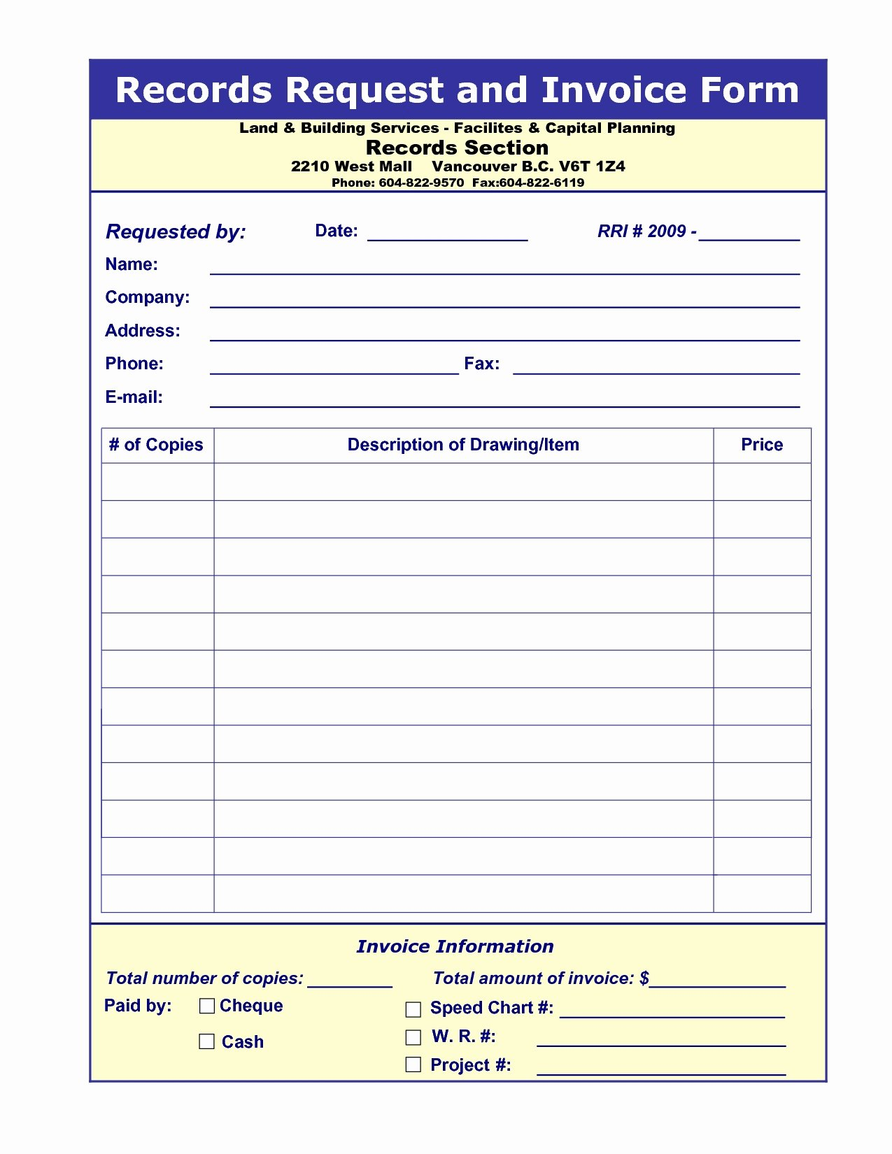 Medical Records Invoice Invoice Template Ideas